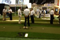 Our indoor PGA Booth