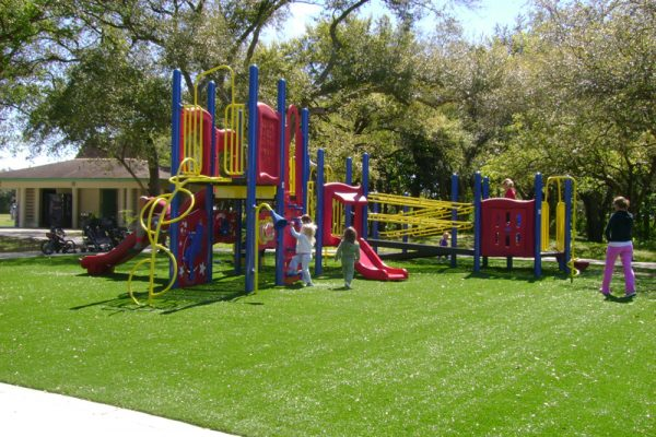 Synthetic Turf International SoftLawn Playground Safety Surfacing Artificial Grass