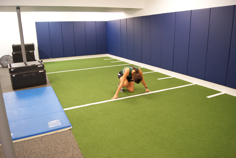 Turf Solutions For Athletics Gym Flooring Synthetic