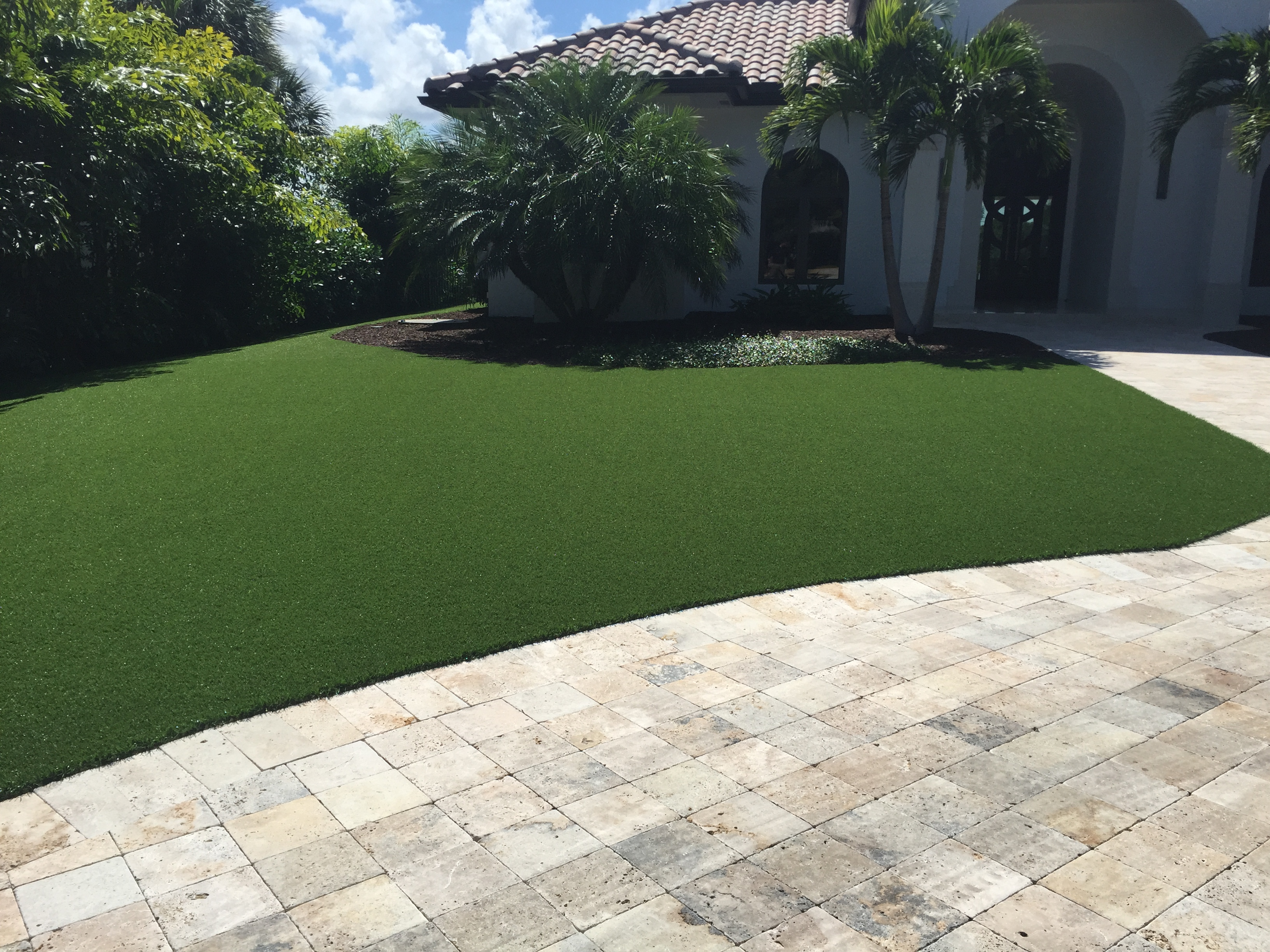 Realistic Fake Grass For Yards Synthetic Turf International 174