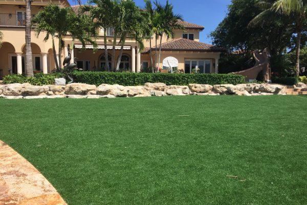 Residential Artificial Grass Lawn