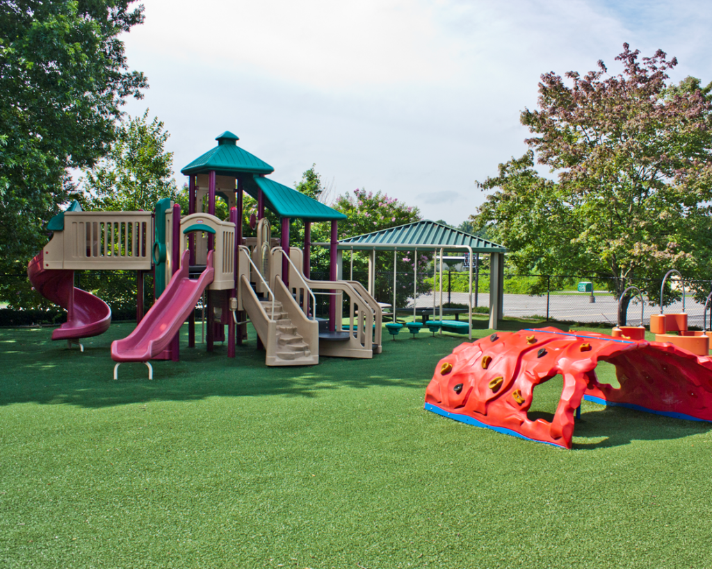 Syntethic Turf International SoftLawn Playground Safety Surface