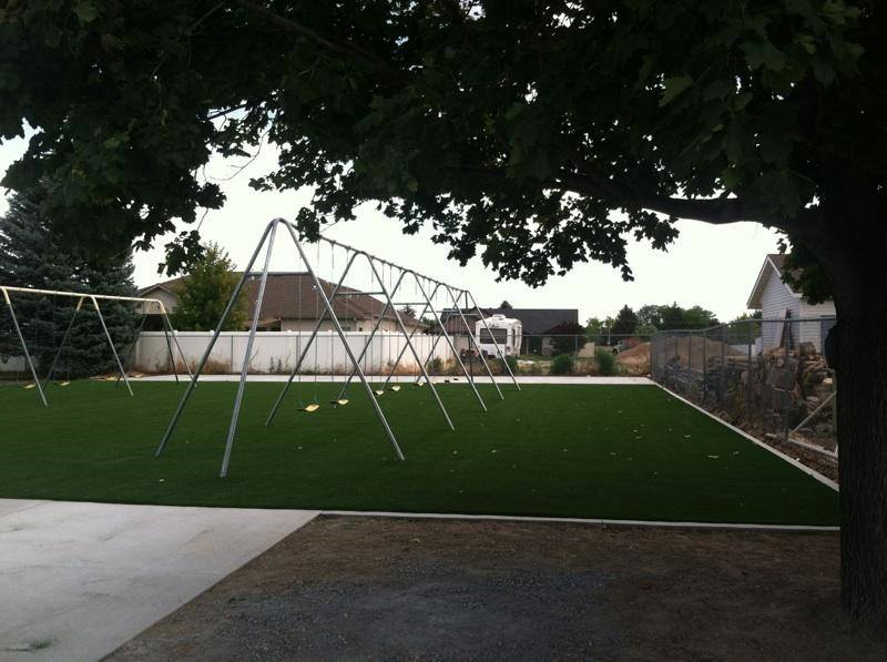immanuel lutheran | playground turf | STI