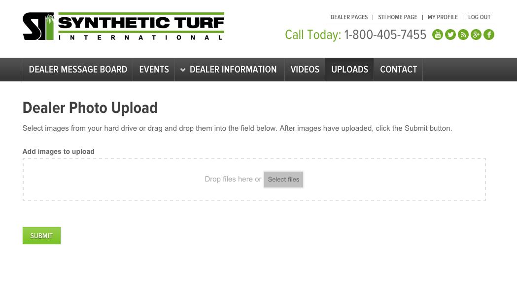 Dealer Uploads Page