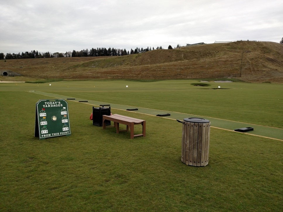 STI installs EZTee® Hybrid Plus Tee Line at Chambers Bay Golf Course