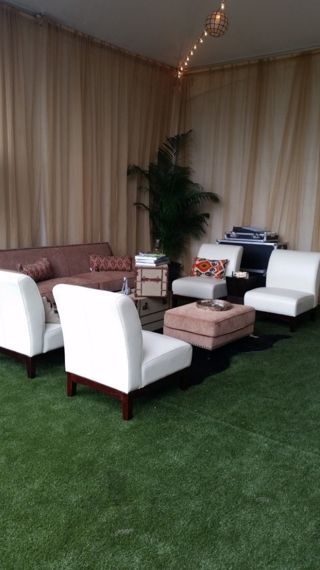 Synthetic Turf Installation for wedding | SoftLawn® Elite