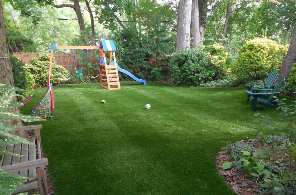 Backyard Residential Artificial Grass