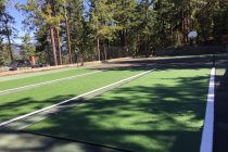 Synthetic Grass Tennis Court Kelowna
