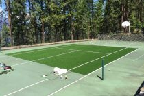 tennis court | sports turf | STI