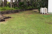Before Synthetic Grass Yard