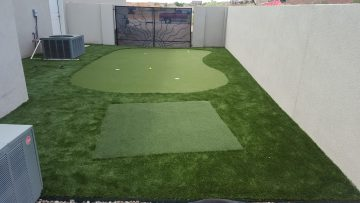 After Backyard Putting Green Results | STI