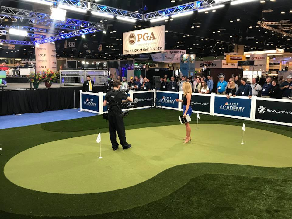 Golf Channel Show Booth