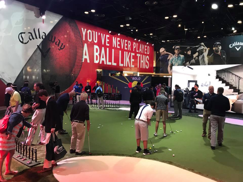 Callaway PGA Show Putting Green