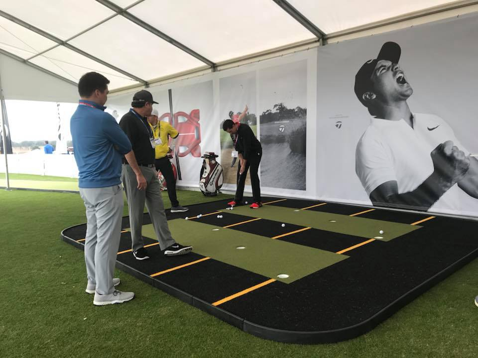 Taylormade Demo Day Putting Lab