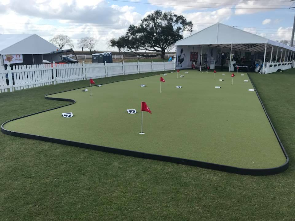 Taylormade Demo Day Putting Green