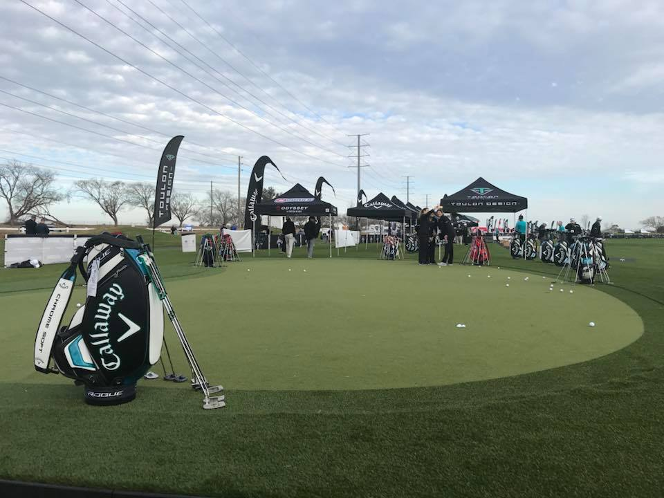 Callaway Demo Day Putting Green