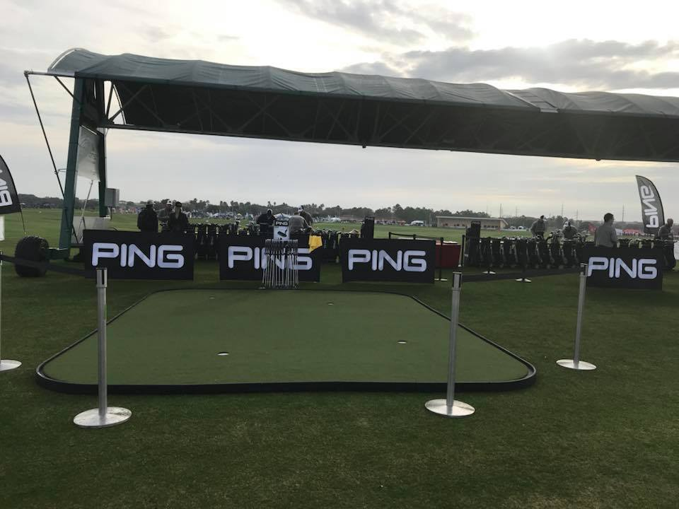 Ping Demo Day Putting Green