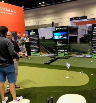 STI Booth 2019 PGA Show