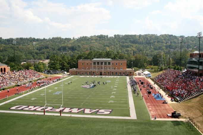 Sporturf Samford University Football Field Playrite