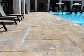 Brick Paver Poolside