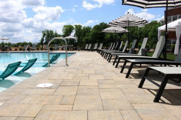 Brick Paver Pool Patio