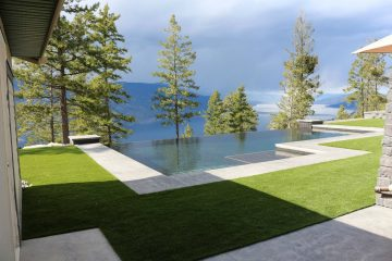 Synthetic Turf Lawn and Landscape